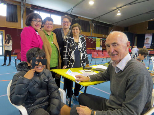 Free glasses and vision screening for low-decile students