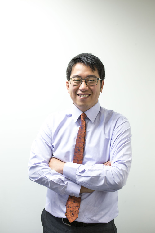 Taiwanese Optometrist, Roger Lee, joins Paterson Burn Optometrists